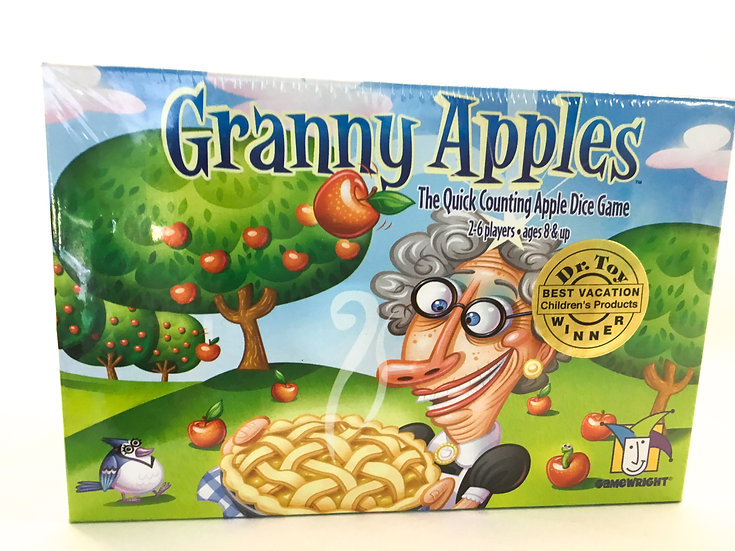 G-097 Granny Apples: The Quick Counting Apple Dice Game