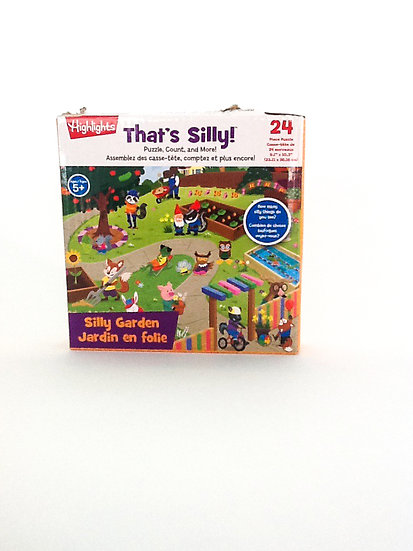 P-003 - That's Silly Garden Puzzle