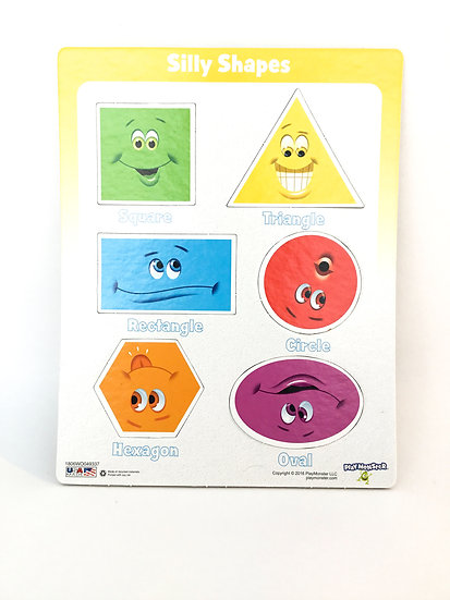 P-021 Silly Shapes Puzzle