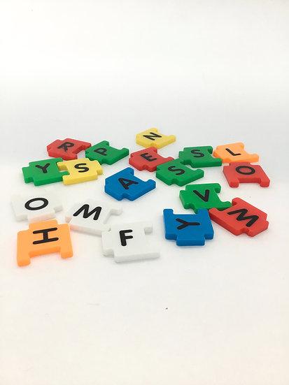 P- 040 Fridge Magnet Letter Puzzle