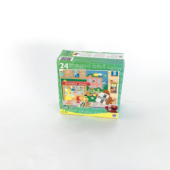 P-067 Sesame Street 24 piece Hoopers Store Puzzle