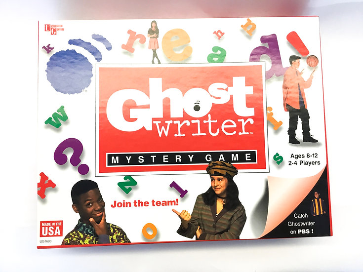 G-109 Ghost Writer Mystery Game