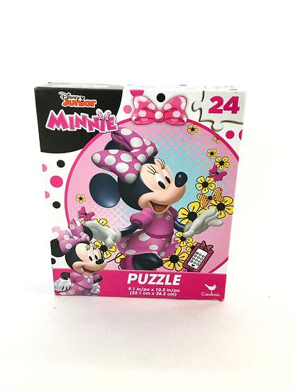 P-043 Disney Jr. Minnie Mouse Puzzle 24 Pieces