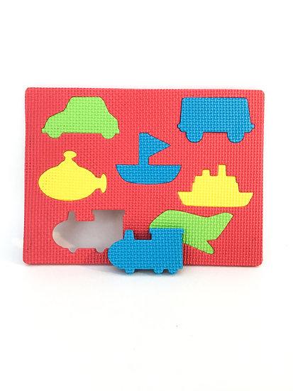 P-031 Foam Puzzle: Modes of Transportation