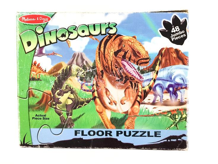 P-062 Melissa & Doug Dinosaur Floor Puzzle - 48 piece