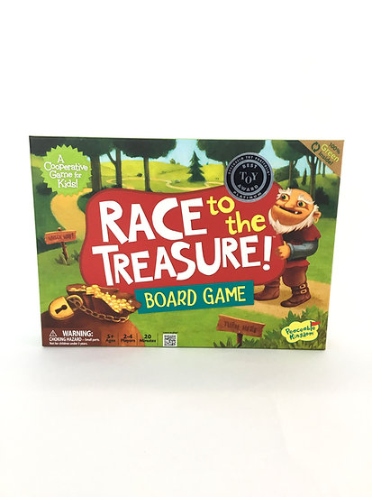 G-018 Race to the Treasure Board Game