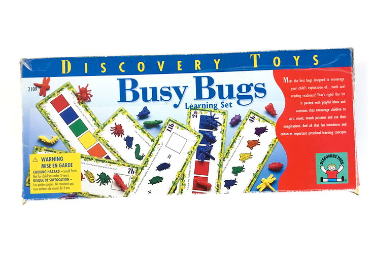 S-015 Discovery Toys Busy Bugs Learning Set