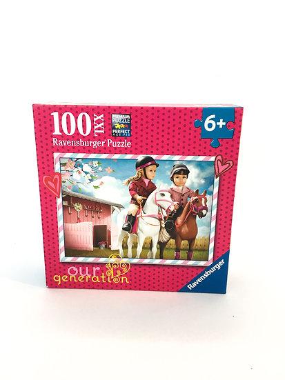 P-012 Our Generation Ravensburger Puzzle 100 Pieces
