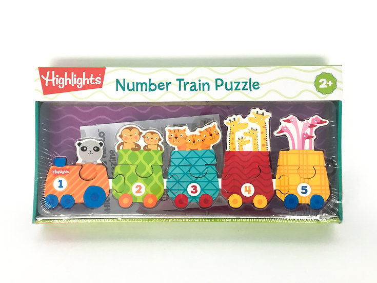 P-054 Highlights: Monster Train Puzzle
