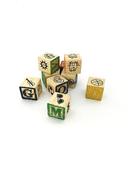 L-005 Alphabet Blocks