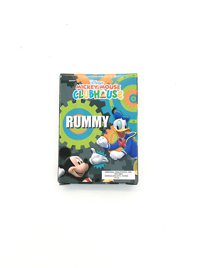 G-042 Disney Mickey Mouse Clubhouse Rummy
