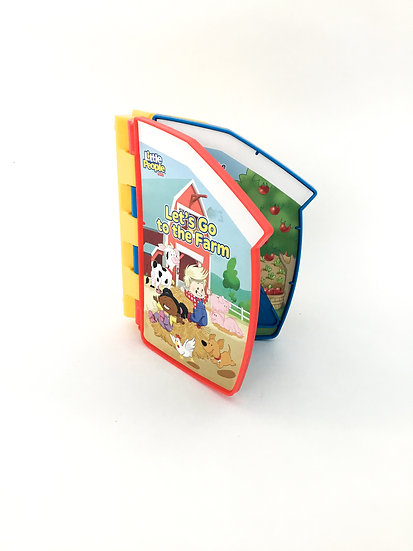 B-056 Let's Go to the Farm Story Book