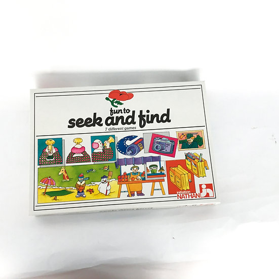 G-123 Fun to Seek & Find: 7 Different Games