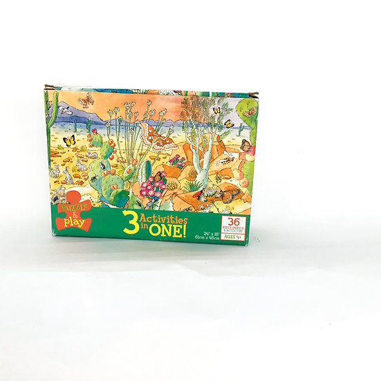 P-071 Puzzle & Play - 3 activities in 1