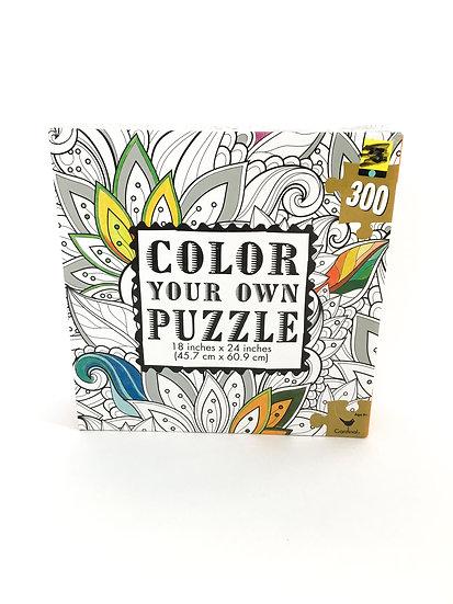 P-015 Color Your Own Puzzle - 300 piece