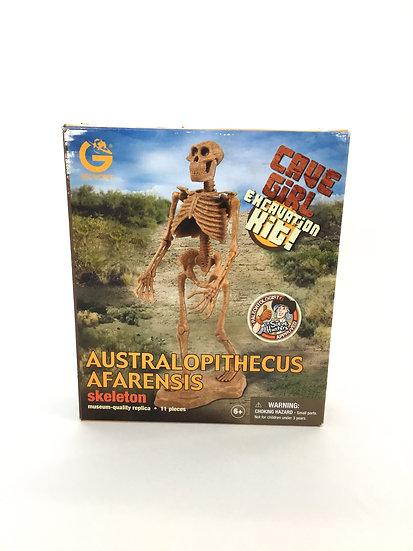 S-003 Australopltheous Afarensis Cave Girl Excavation