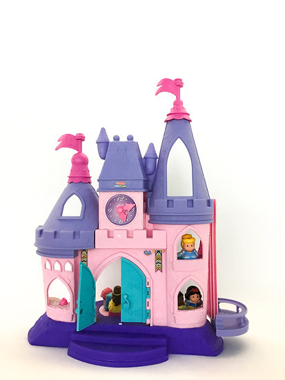 D-015 Little People Pink and Purple Castle