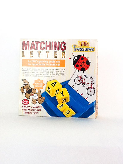 G-002 – Little Treasures Matching Letter Game