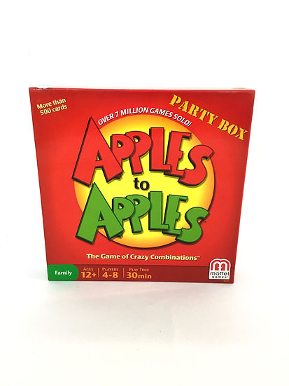 G-004 Apples to Apples: Game of Crazy Combonation