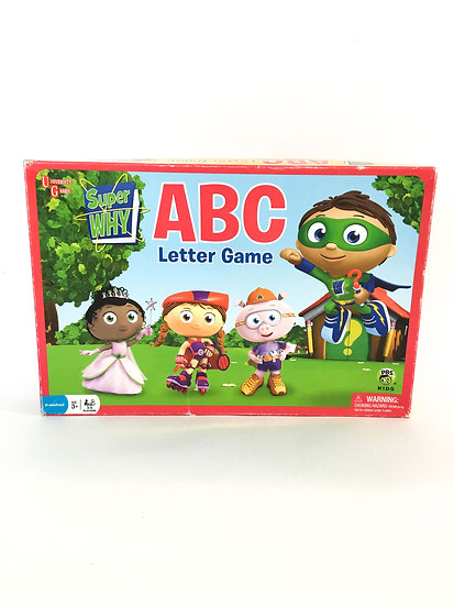G-008 Super Why ABC Letter Game
