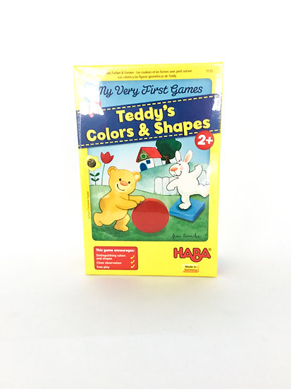 G-091 HABA: Teddy's Colors & Shapes