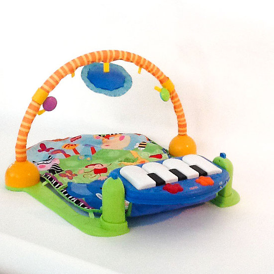 B-007 Fischer Price Safari Play Pad with Piano