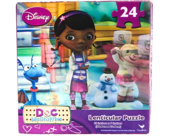 P-056 Disney Doc McStuffins 24 piece puzzle