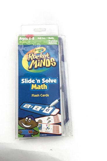 S-018 Rocket Minds: Slide 'n Solver Math Flash Cards
