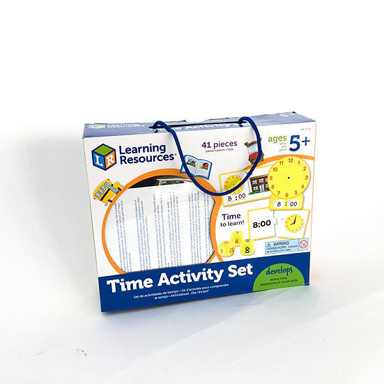 S-019 Learning Resources Time Activity Set