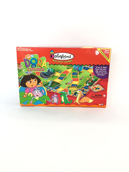 G-007 Nick Jr. Dora the Explorer Colorform Big Easy Game