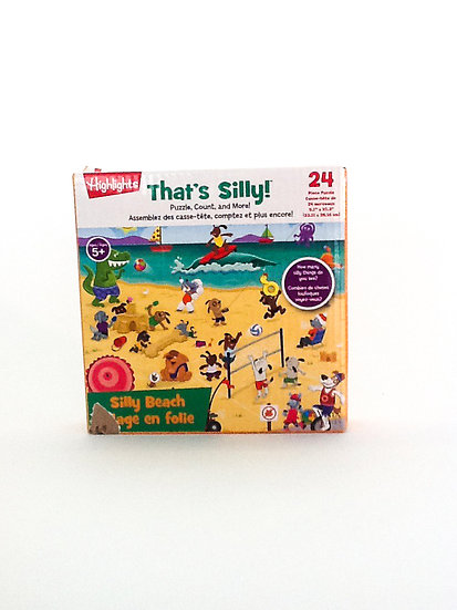 P-002 - That's Silly Beach Puzzle