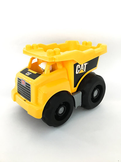 V-014 CAT Mega Blocks Dump Truck
