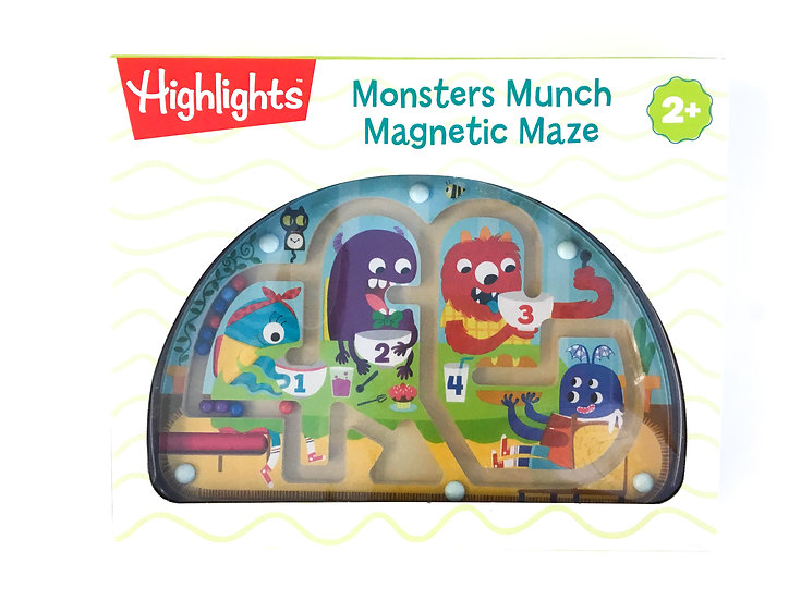 G-095 Monsters Munch Magnetic Maze