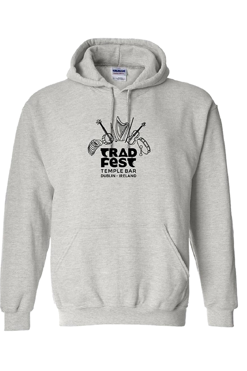 TradFest - Heather Gray Hoodie