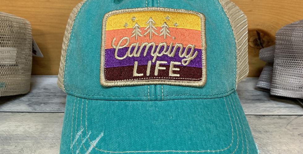 Camping Life Ball Cap