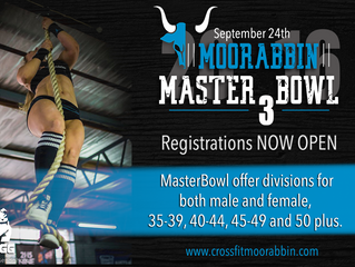 MasterBowl 3 Registration NOW OPEN