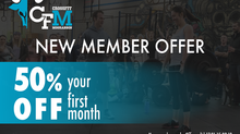 New Member Special - 50% Off Your First Month!