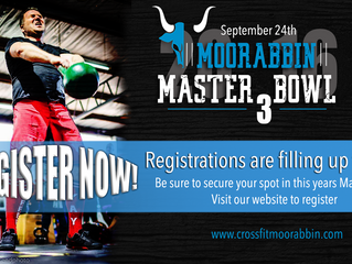 MASTERBOWL 3 IS FILLING FAST!