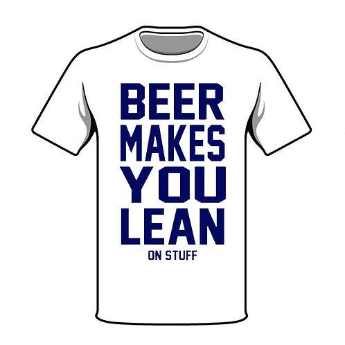 Beer Makes You Lean