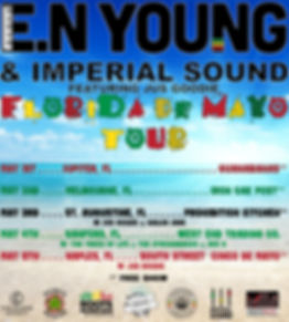 E.N Young Florida De Mayo Tour Instagram