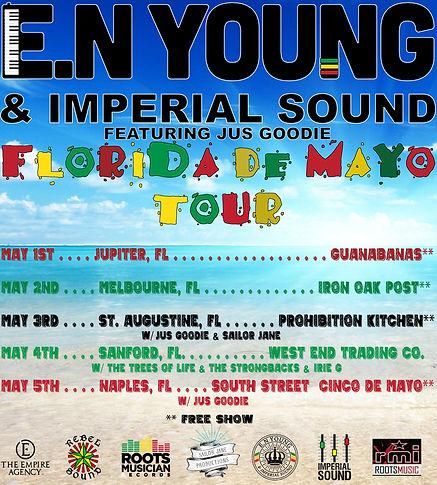 E.N Young Florida De Mayo Tour Instagram