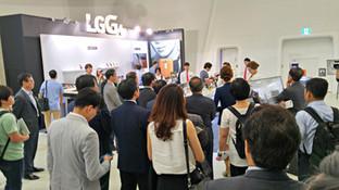 동아일보 IoT 포럼 LG G4 부스