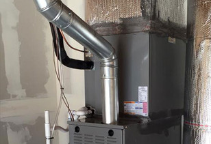 Is one pipe enough to install a highly efficient furnace?