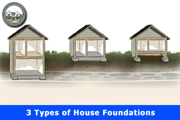 3 Types of House Foundations