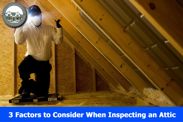 3 Factors to Consider When Inspecting an Attic.