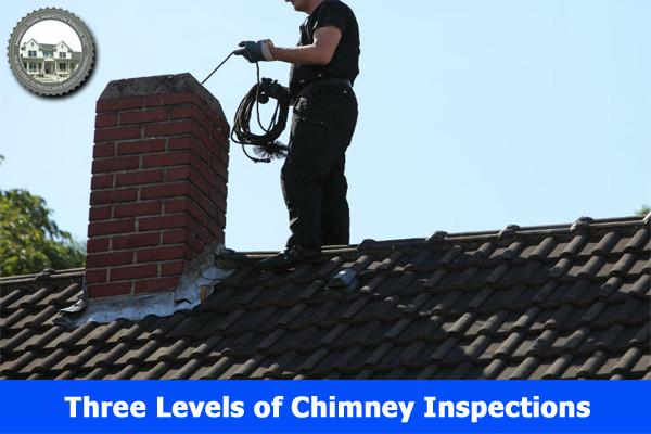 The Three Levels of Chimney Inspections