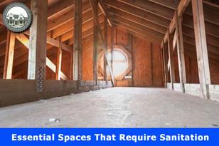 Essential Spaces That Require Sanitation.
