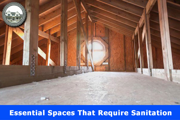 Essential Spaces That Require Sanitation