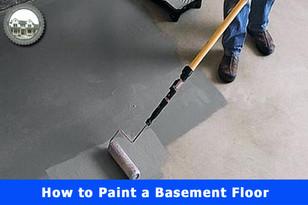 How to Paint a Basement Floor.