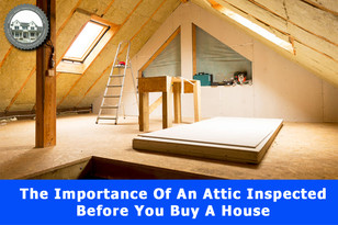 The Importance Of An Attic Inspected Before You Buy A House.